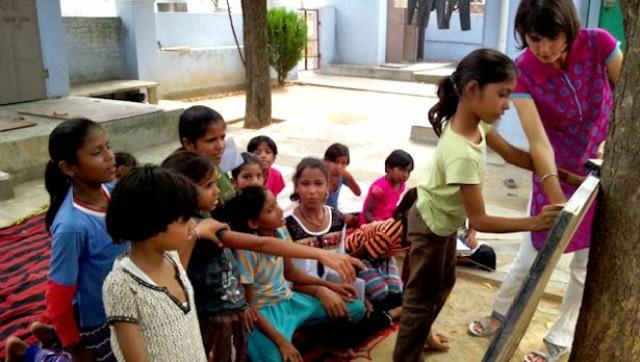 volunteer teaching program in india