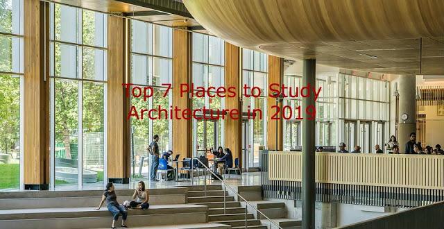 study Architecture in 2019