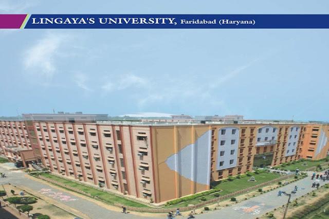 lingayas university faridabad
