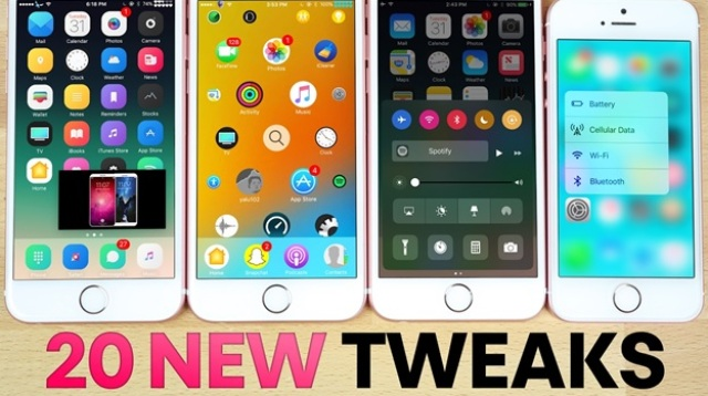 Install Tweaks From Cydia